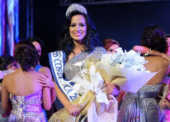 Miss Costa Rica 2012 winner Maria Nazareth Cascante Madrigal