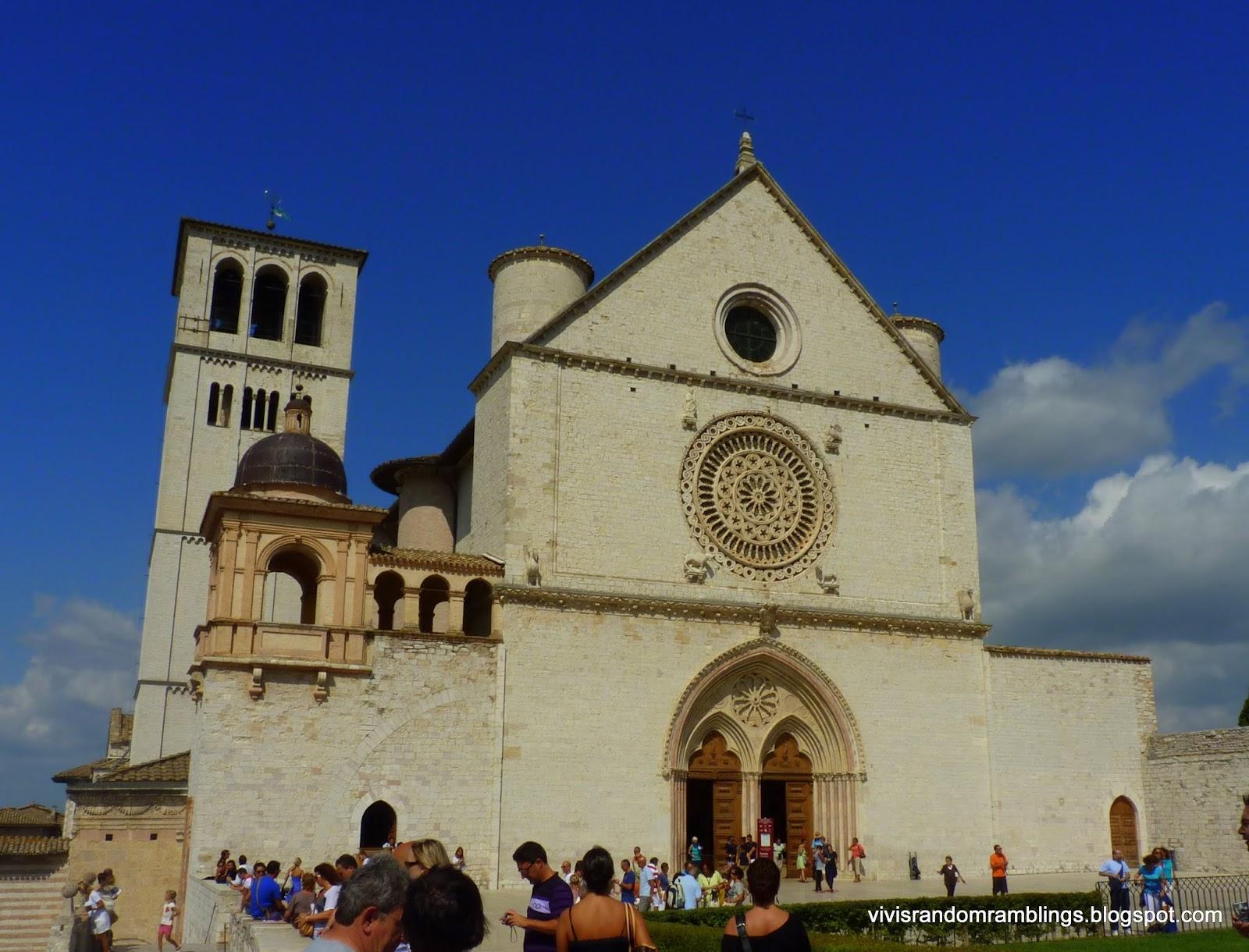 Basilica of Santa Maria degli Angeli (Saint Mary of Angels), Assisi