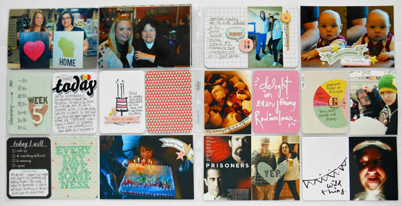 Project Life Spread by She Zig Zags