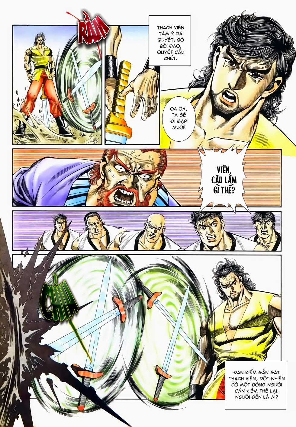 Long Hổ Phong Bạo chap 4 - Trang 18