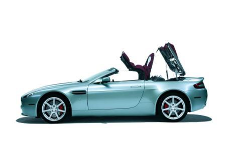 Aston Martin Vantage V8 Convertible. 2011 Aston Martin V8 Vantage