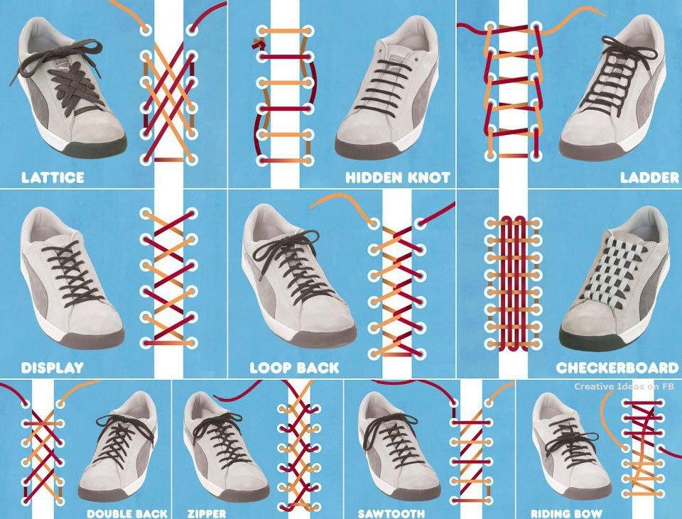 靴ブランド top 靴 : Ways to Lace Your Shoes