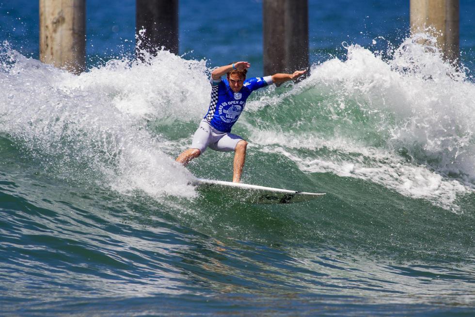 25 Billy Stairmand Vans US Open of Surfing Foto WSL Sean Rowland
