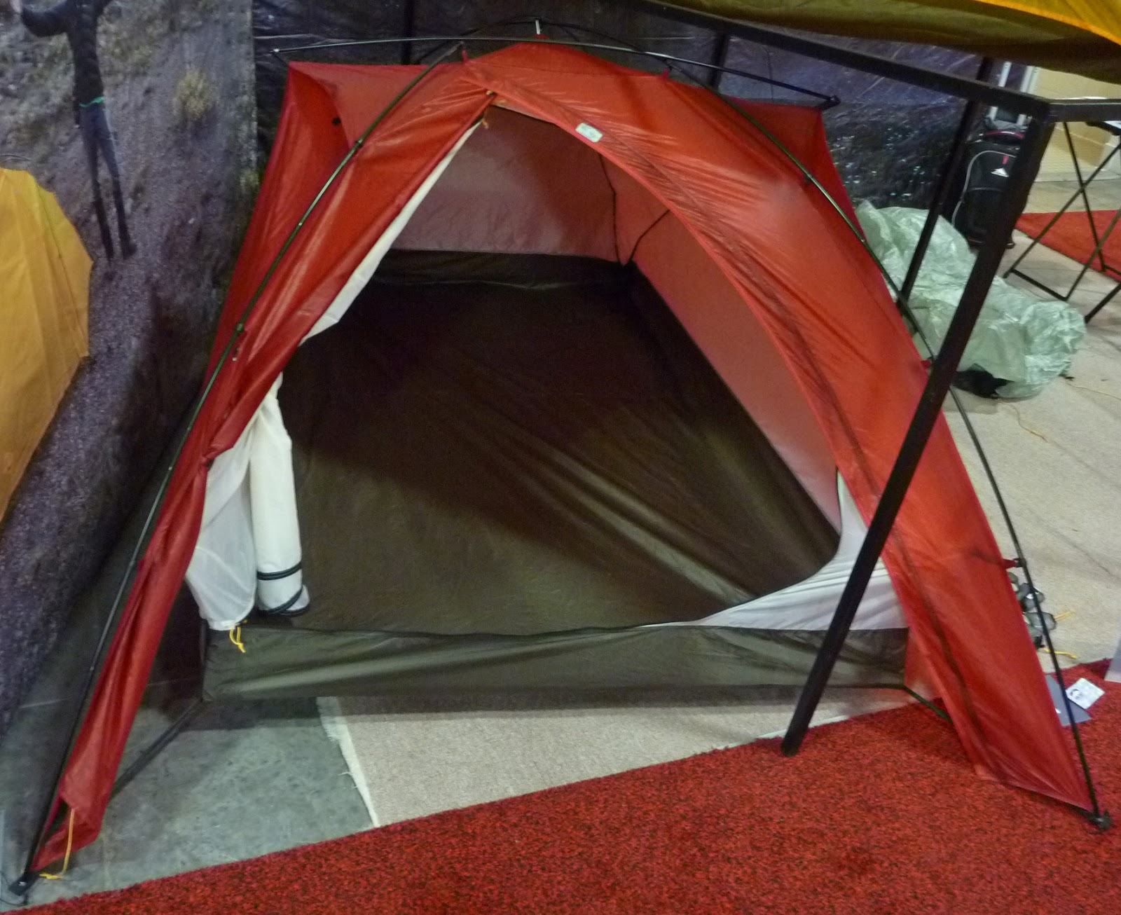 Big Sky International Glacier Extreme Tent. This is a four-season three pole two person tent that weighs just 3 pounds 9 ounces. It has an end entry ... & Ultralight Insights -- Whatu0027s New and Exciting for Ultralight ...
