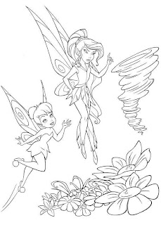 Dibujos de Tinkerbell para Pintar, parte 3