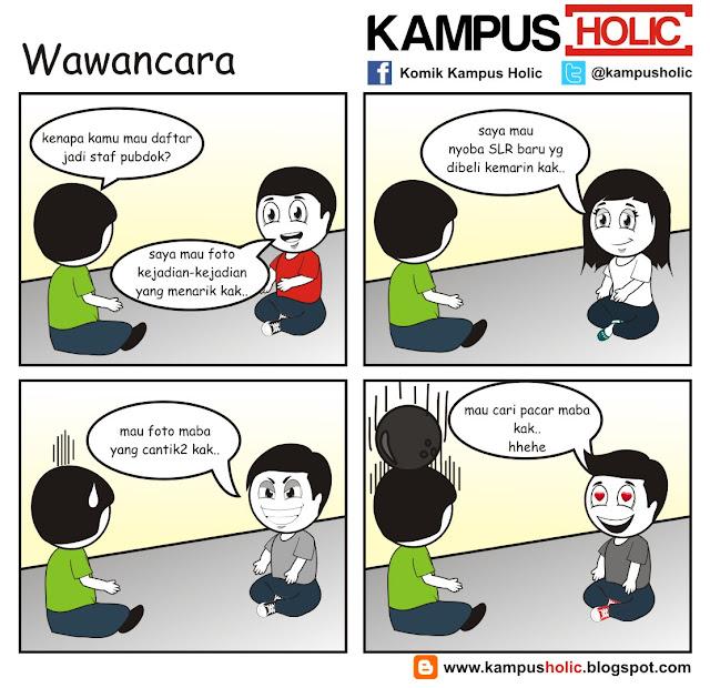 #005 Wawancara Staf Pubdok di kampus