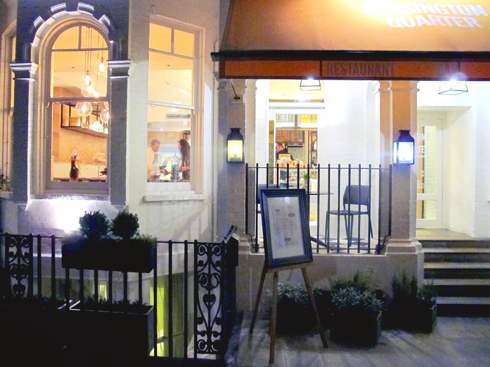 Kensington Quarter restaurant, Earl's Court, London