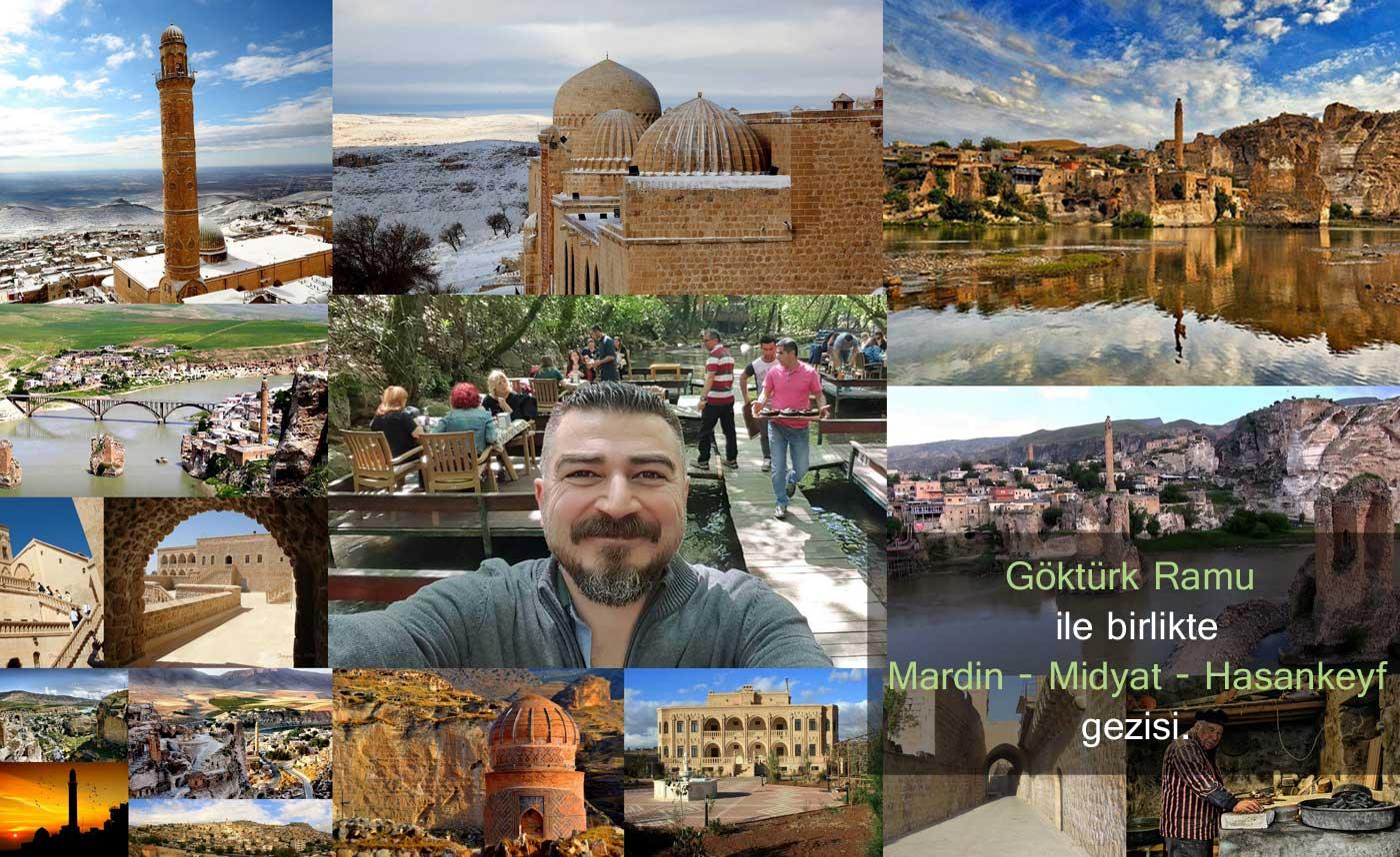Mardin Midyat Hasankeyf Gezisi