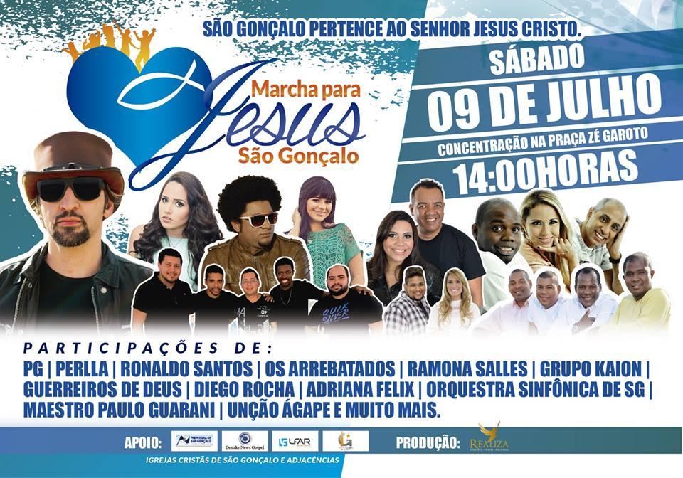 Marcha para Jesus SG