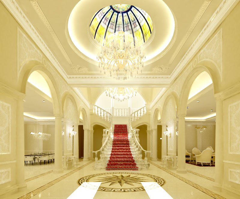 Marriage Hall Front Elevation Designs : Casatreschic interior marriage banquet hall hotel front