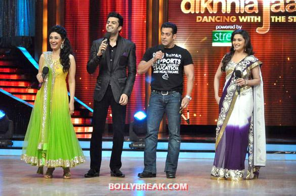 Ragini Khanna, Manish Paul, Salman Khan, Madhuri Dixit - (18) - Salman & Katrina on the sets of 'Jhalak Dikhhla Jaa 5'