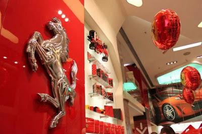 Tienda de Ferrari en Madrid