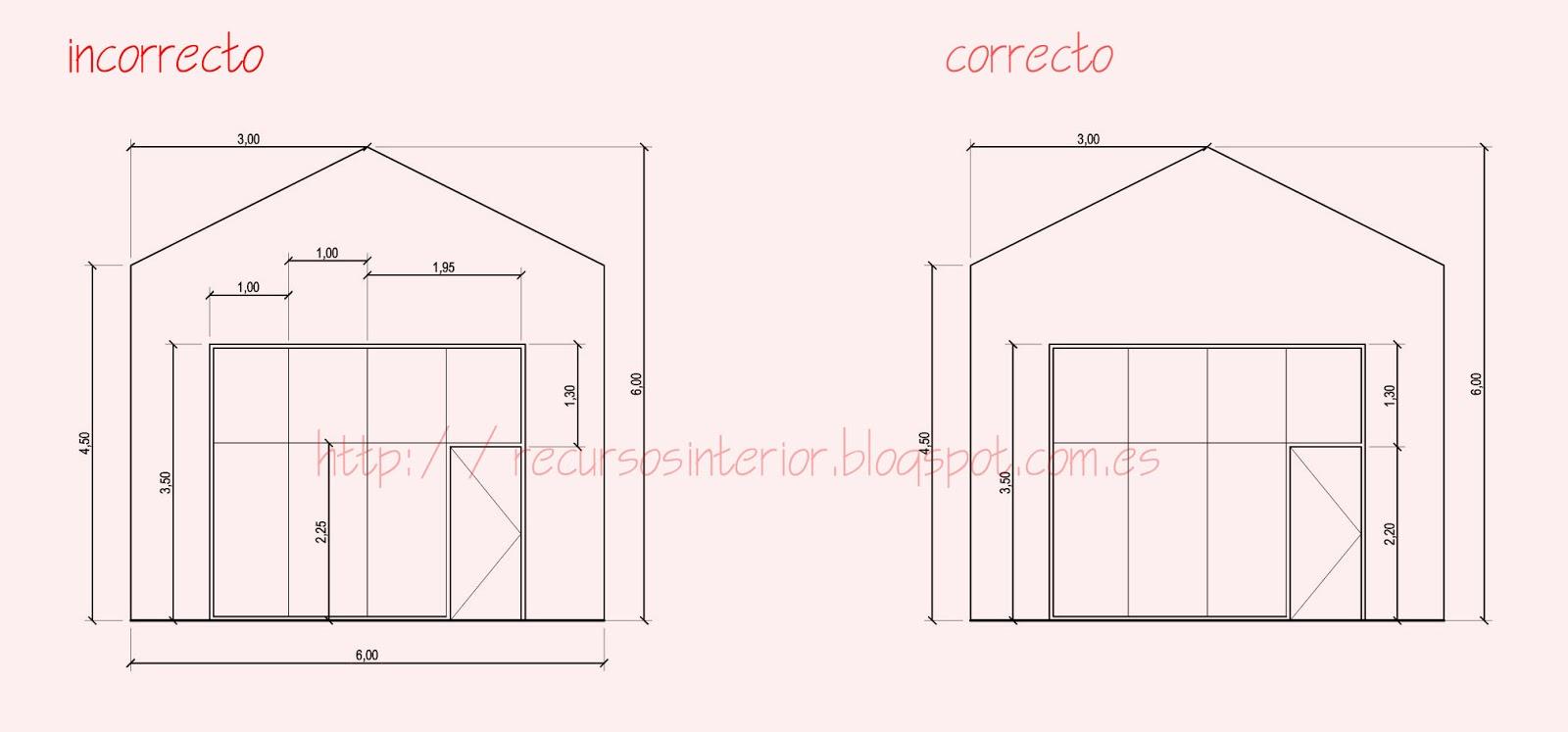 Acotar correctamente en autocad recursos interior for Que es un plano arquitectonico