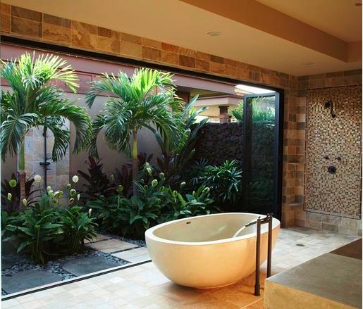 Jardim de Inverno – veja modelos, dicas e sugestões de quais planta usar!  D -> Banheiros Com Banheira E Jardim De Inverno