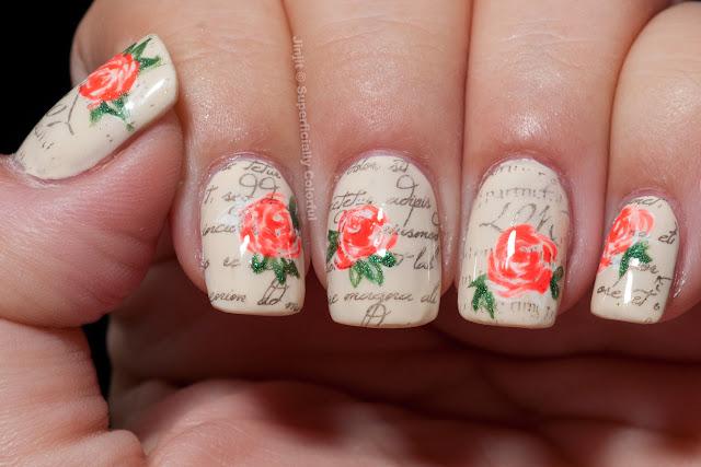 The Nail Junkie Jelly Shimmer Watermelon Zoya Jacqueline Darling Diva Polish Sashay Away Romantic Roses