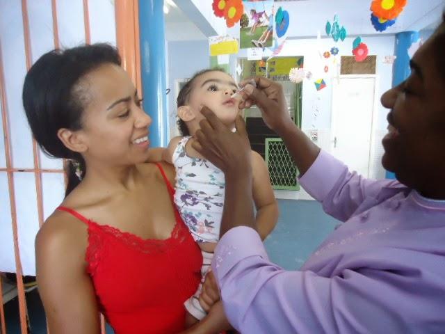 Vacinação na Creche
