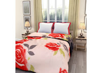 Pepperfy eCraftIndia Bed Reversible AC Blanket at Rs. 407:buytoearn