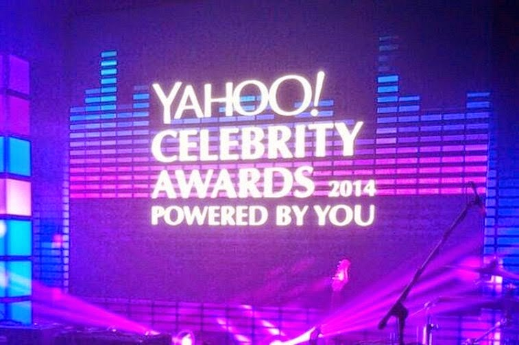 Yahoo Celebrity Awards 2014 winners' list
