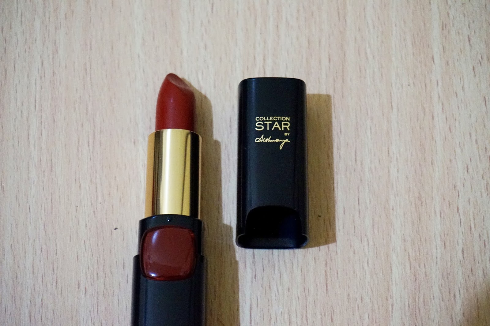perfect and affordable red lipstick