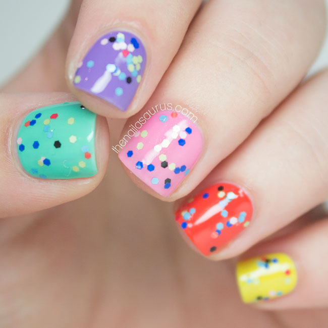 Rimmel Pop Art Top Coat Swatch The Nailasaurus Uk Nail Art Blog