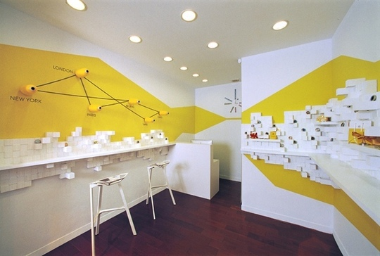 e tu...di che colore vuoi dipingere le pareti? - architettura e ... - Arredamento Pareti Gialle