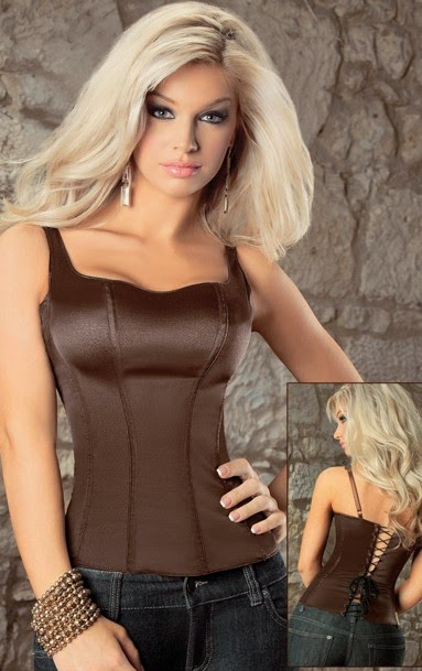 The product includes smooth and comfy adjustable strap zip side corset