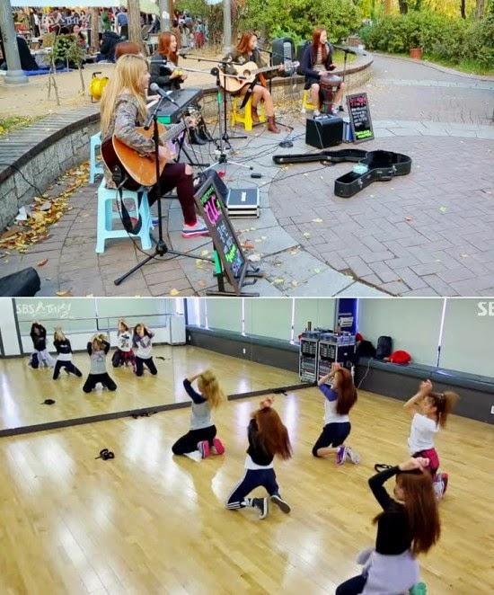 Proyek girlband baru, clc, untuk debut tahun 2015! - play k-pop music