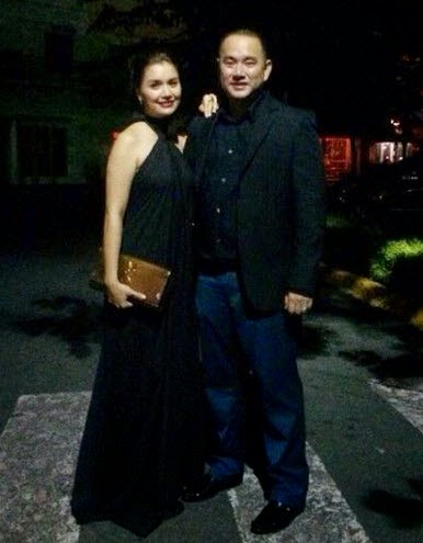 Nadine and richard wedding