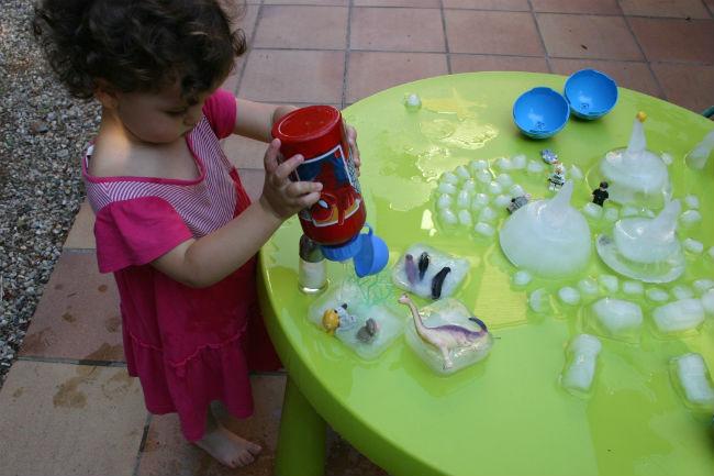 actividades y juegos para nios aire libre hielo