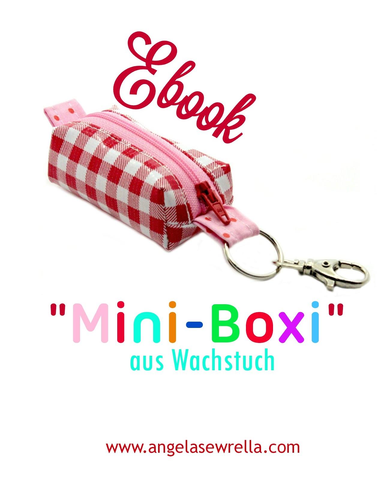 Ebook Mini-Boxi aus Wachstuch Täschchen