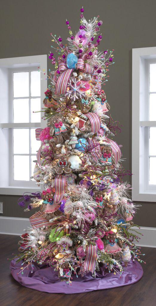 Raz candy wonderland decorated christmas tree a
