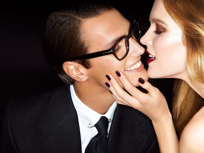 Mirte Maas & Mathias Bergh by Tom Ford for Tom Ford Spring 2012-2