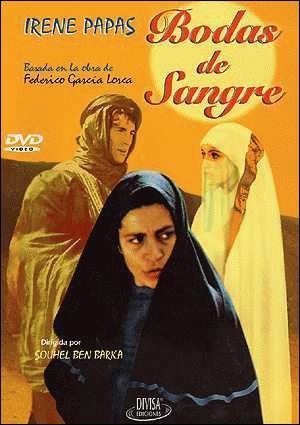 Bodas de sangre, musical cinematográfico dirigido en 1981 por Carlos Saura a partir del ballet de Antonio Gades. Es la primera parte de la trilogía sobre el