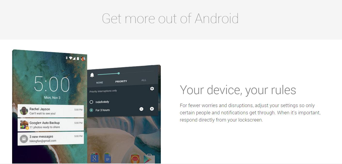 Ke unggulan Google Nexus 9 dan Smartphone Google Nexus 6