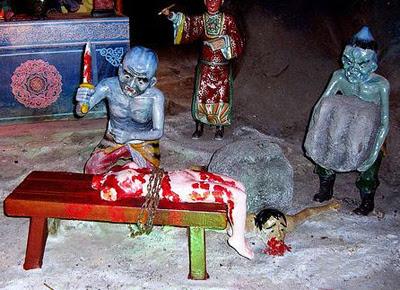 Gambaran Neraka Agama Buddha