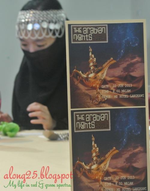 blog along25 trip to langkawi cuti-cuti malaysia my hotel langkawi dinner arabian night tema arab