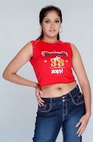Actress Meghna Raj Latest Navel Show Photoshoot