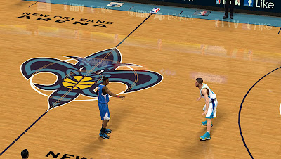 NBA 2K13 New Orleans Court Mod