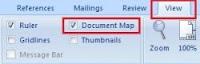 Mempermudah pencarian dokumen perbagian pada Ms. Word 2003-2007