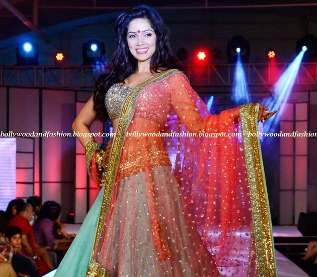 Vidya Malwade - on the ramp