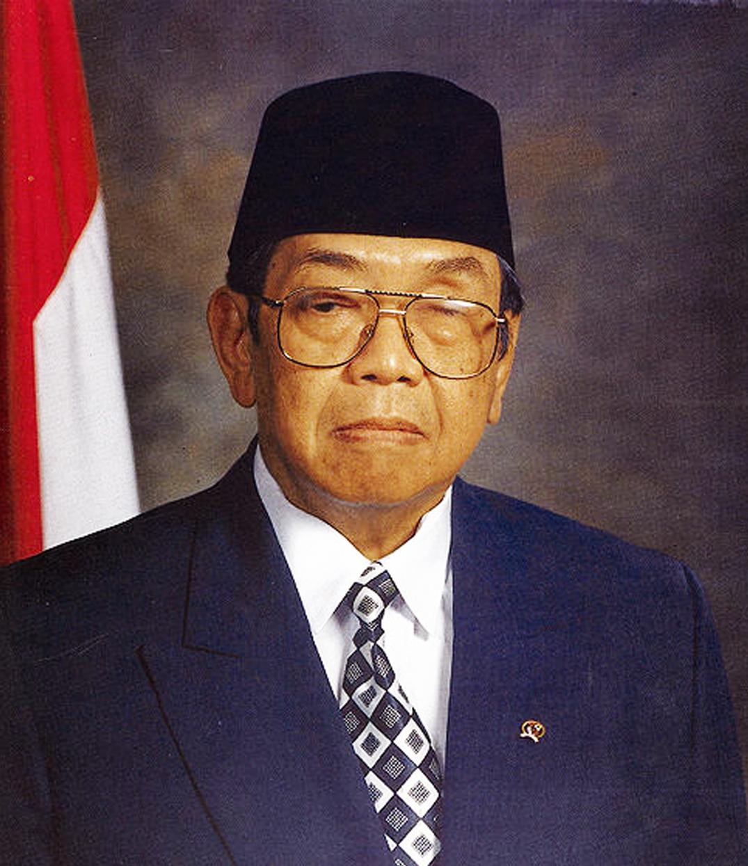 Presiden Abdurrahman Wahid (Gusdur) berwarna