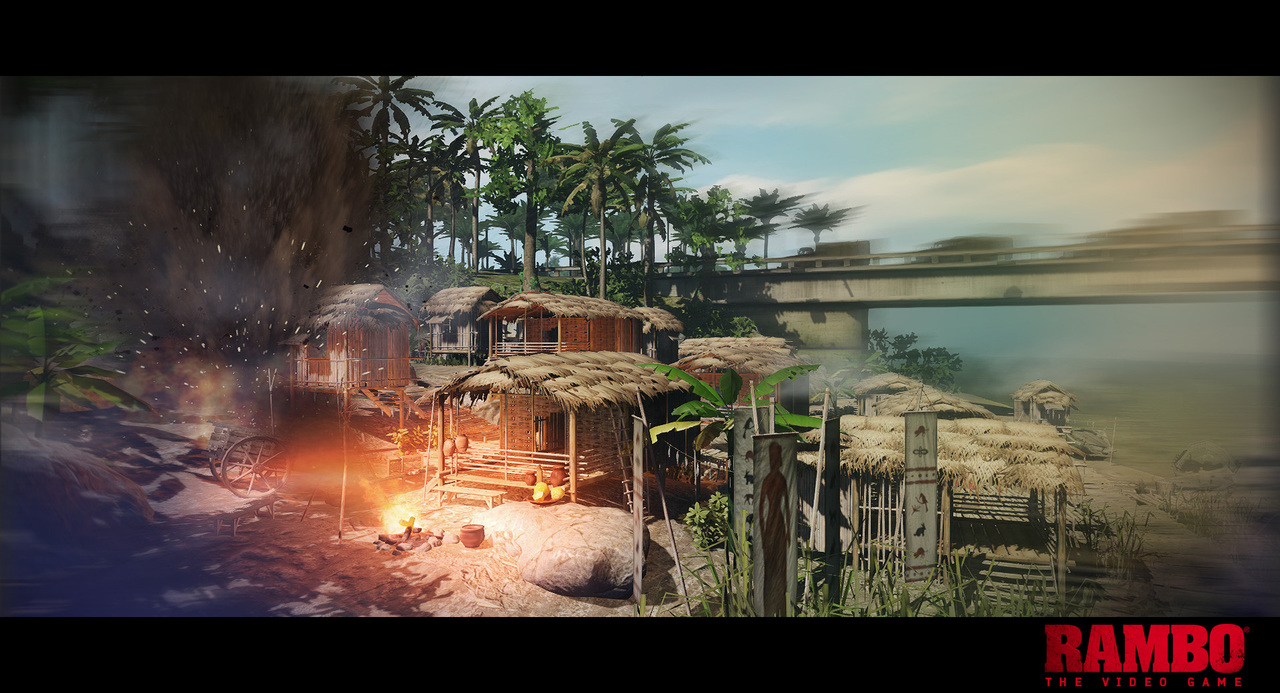 Rambo The Video Game Screen Shots, Wallpapers