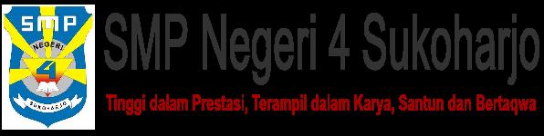 Website SMP Negeri 4 Sukoharjo