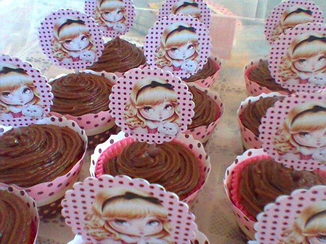 Ari dny cupcakes cupcakes da mariana parte i jolie - Jolie cupcake ...