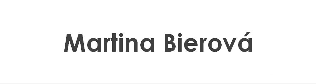 Martina Bierová
