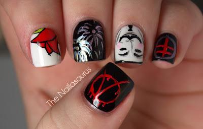 Uñas de peliculas 23+V+For+Vendetta+Nail+Art+%252804%2529
