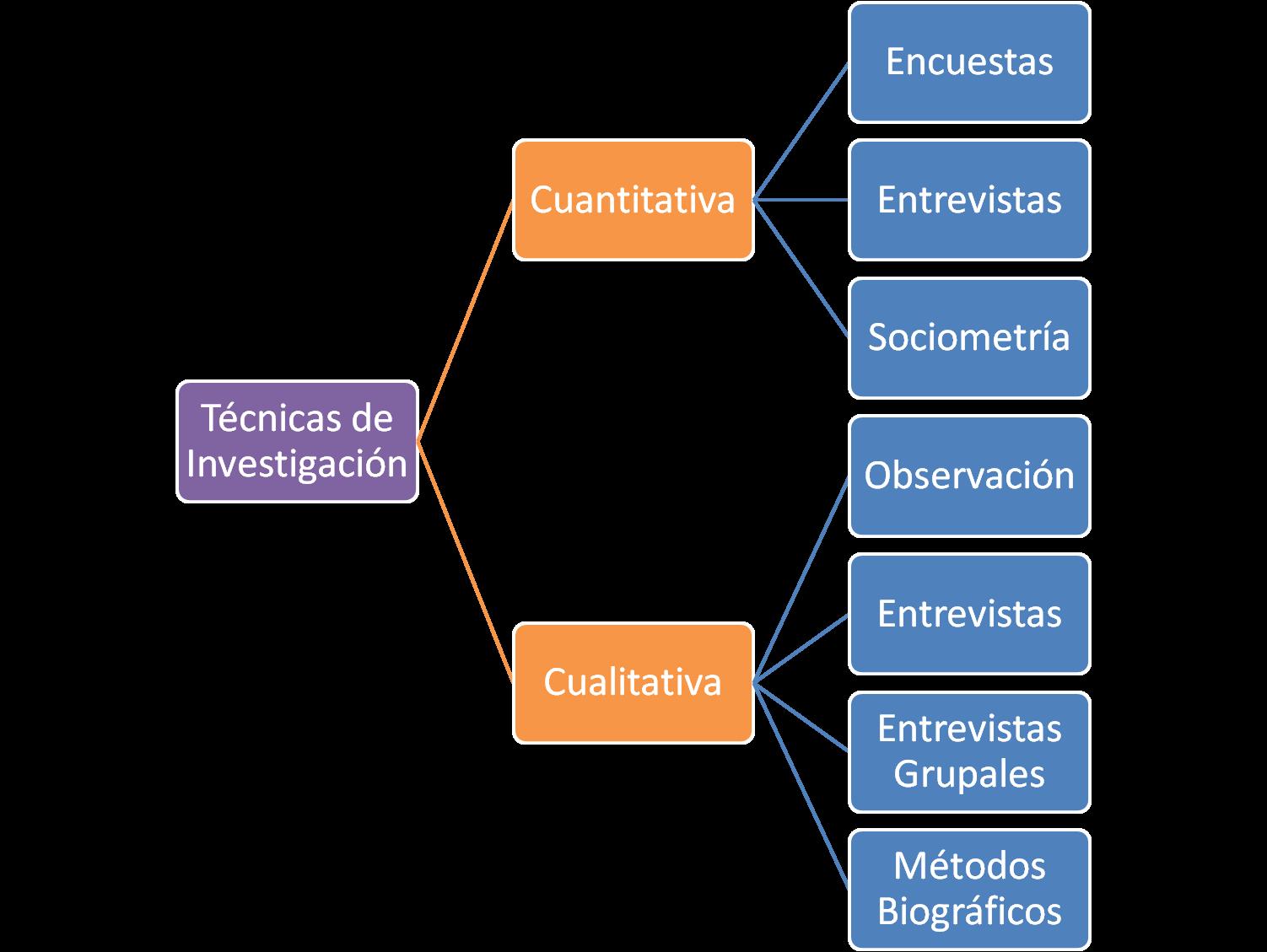 Manual del investigador t cnicas de investigaci n for Tecnicas gastronomicas pdf