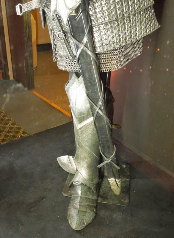Maleficent King Stefan battle armour boots
