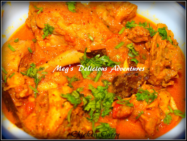 Chicken Curry (CKP style Chicken Rassa)