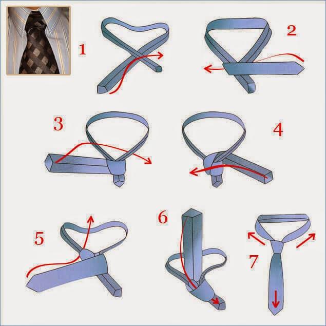 Kaklaraiščio rišimas Nr.11